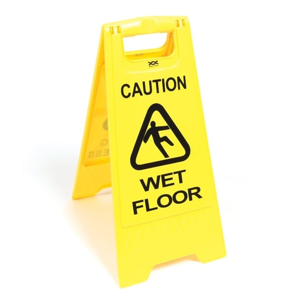 Wet Floor Warning Sign-0
