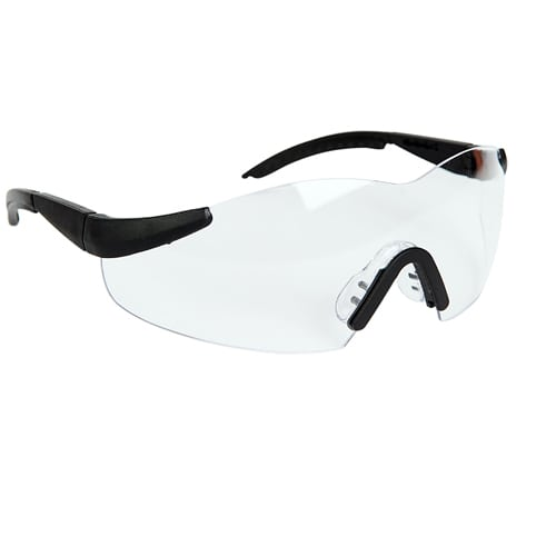 Safety Spec with Clear lense with neck cord