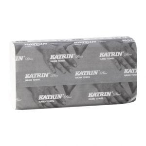 Katrin Plus Non Stop M2 wide Towels 2ply White 2025 Sheets Handy Pack (344464)