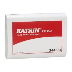 Katrin Classic Non stop Paper Towels 2ply White 3500 Sheets (344555)