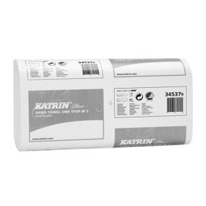 Katrin Plus One stop M2 EasyFlush Paper Towels 2ply White 3045 Sheets (345379)