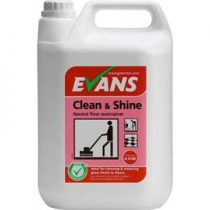Evans Clean & Shine Floor Cleaner/Maintainer 5L