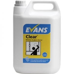 Clear Glass Cleaner 5L