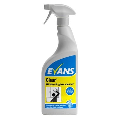 Clear Glass Cleaner 750ml