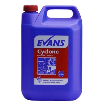 Cyclone Thickened Bleach 5L