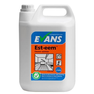 Evans Esteem Kitchen Cleaner Sanitiser 5L