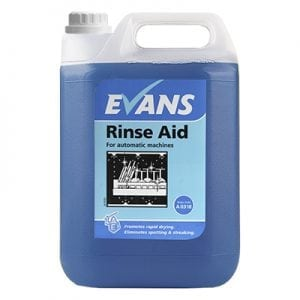 Evans Dishwash Rinse Aid (all water types) 5L