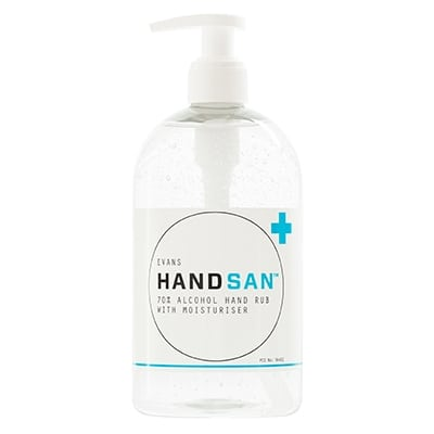 Evans Handsan Alcohol Hand Rub 500ml