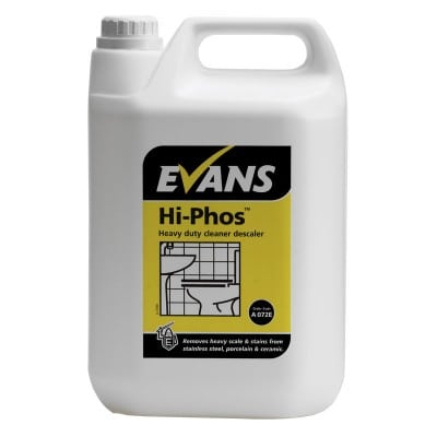 Hi-Phos Toilet Cleaner & Limescale Remover 5L