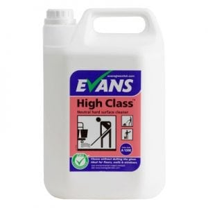 Evans High Class Hard Surface Cleaner/Floor Cleaner 5L