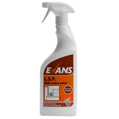 Evans L.S.P Liquid Spray Polish 750ml