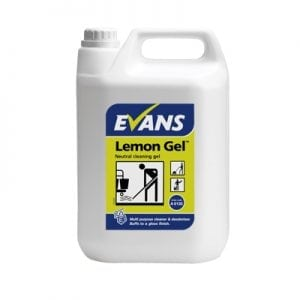 Evans Lemon Gel Multi Cleaner/Floor Cleaner 5L