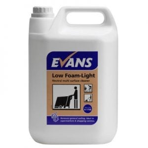Evans Low Foam Light Multi Surface Cleaner 5L