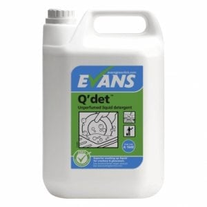 Q'det Washing Up Liquid 5L