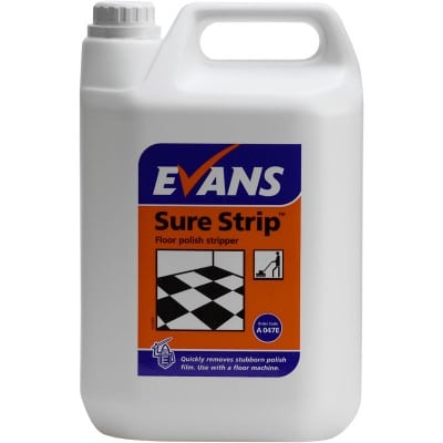 Evans Sure Strip Floor Polish Stripper 5L