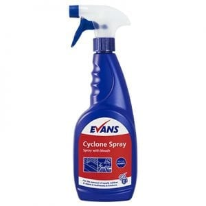 Cyclone Spray Bleach 750ml
