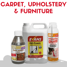 Carpet Upholstery & Furniture - Chemicals