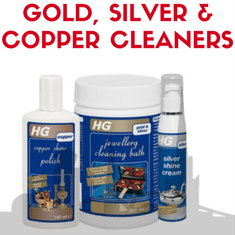 Gold Silver & Copper Cleaners