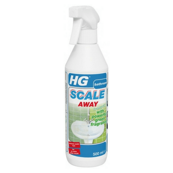 hg scale away foam spray with powerful green fragrance. Black Bedroom Furniture Sets. Home Design Ideas